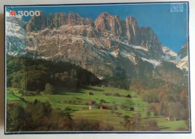 Image of the puzzle 3000, Jumbo, Kreuzberge, St. Gallen, Switzerland, Factory Sealed, Picture of the box