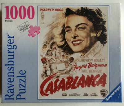 Image of the puzzle 1000, Ravensburger, Casablanca, Factory Sealed