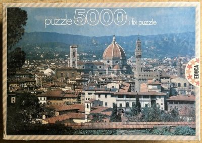 Image of the puzzle 5000, Educa, Florence, Factory Sealed