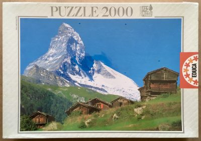 Image of the puzzle 2000, Educa, Mount Cervino, Factory Sealed
