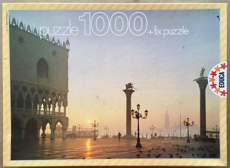 Image of the puzzle 1000, Educa, Venice, Sealed Bag, Picture of the box