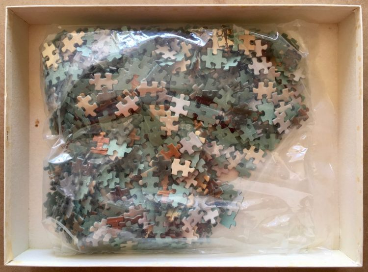 Image of the puzzle 1000, Educa, Venice, Sealed Bag, Picture of the bag