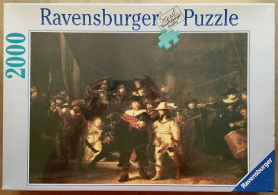 Image of the puzzle 2000, Ravensburger, The Night Watch, by Rembrandt