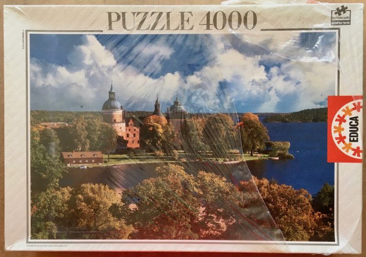 Image of the puzzle 4000, Educa, Drottningholm, Sweden, Factory Sealed