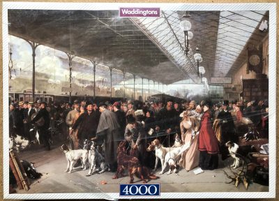 Image of the puzzle 4000, Waddingtons, Coming South, Perth Station, by George Earl, Factory Sealed