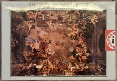 Image of the puzzle 2000, Educa, Triumph of Saint Ignatius, Andrea Pozzo, Factory Sealed