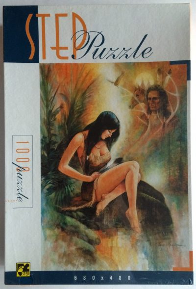 Image of the puzzle 1000, Step, Indian Summer, Factory Sealed
