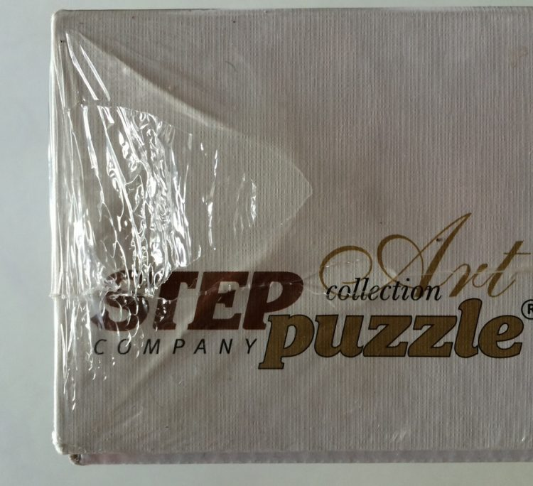 Image of the puzzle 3000, Step, Sea battle, Factory Sealed, Detail of the box