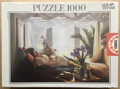Image of the puzzle 1000, Educa, Tenderness, by Greg Olsen, Factory Sealed