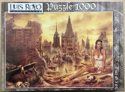 Image of the puzzle 1000, Educa, Dolls, by Luis Royo, Factory Sealed, Listed by Jorge