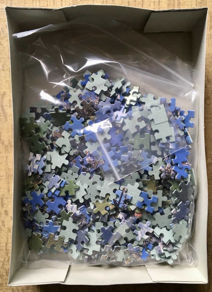 Image of the puzzle 500, Diset, Rauris, Austria, Complete, Picture of the bag