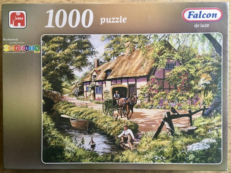 Image of the puzzle 1000, jumbo, The Baker, Factory Sealed