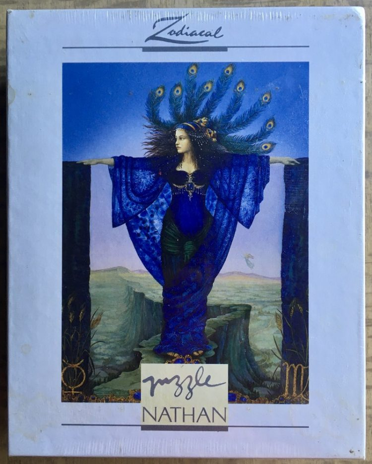 Image of the puzzle 500, Nathan, Virgo, by Linda Garland, Factory Sealed