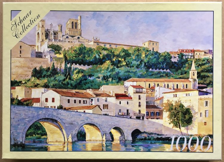 Image of the puzzle 1000, Puzzelman, French Reflection, by Robert Schaar, Complete, Picture of the box