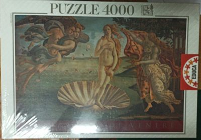 Image of the puzzle 4000, Educa, The Birth of Venus, Botticelli, Factory Sealed