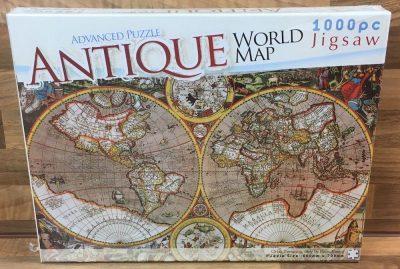Image of the puzzle 1000, The Works, Orbis Terrarum, 1607, by Pieter van den Keere, Factory Sealed