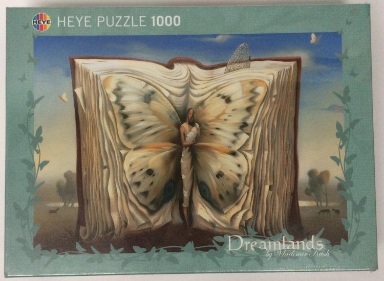 Image of the puzzle 1000, Heye, Bookmark, by Vladimir Kush, Factory Sealed