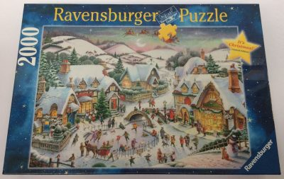 Image of the puzzle 2000, Ravensburger, Its Christmas!, by Roy Trower, Factory Sealed