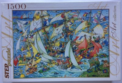 Image of the puzzle 1500, Step, Everything is in the Sea!, Factory Sealed