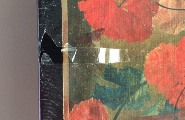 Image of the puzzle 2000, Step, Flowers and Fruit, by Jan van Huysum, Factory Sealed, Detail of the box