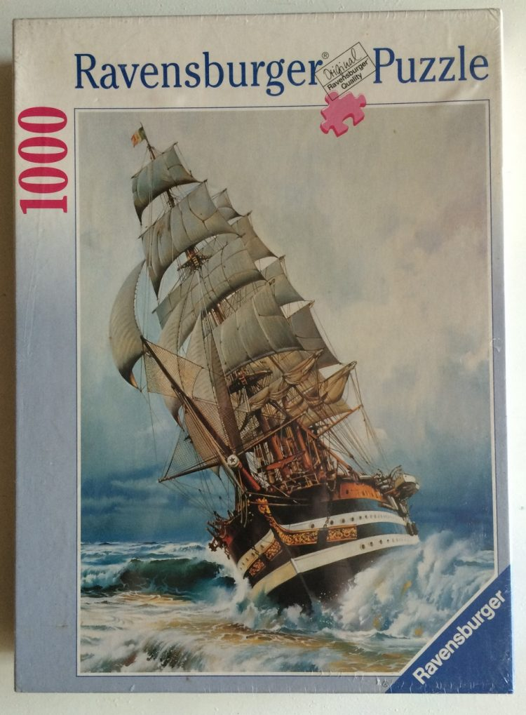 Image of the puzzle 1000, Ravensburger, Full Speed Ahead, Factory Sealed