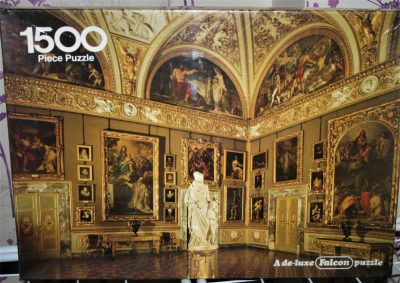 Image of the puzzle 1500, Falcon, Gallery Palatina: Florence, Italy, Factory Sealed