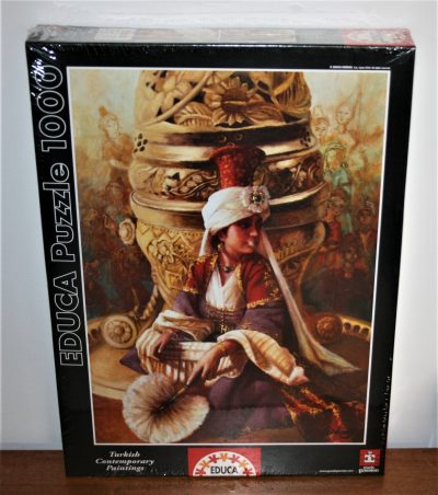 Image of the puzzle 1000 Educa, The Sultan Maht Nigar, by Kamil Aslanger, Factory Sealed