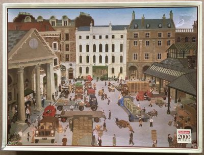 Image of the puzzle 2000, Waddingtons, Covent Garden, by John Allin, Sealed Bag, Picture of the box