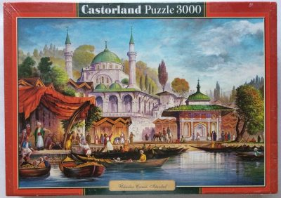Image of the puzzle 3000, Castorland, Uskudar Mosque, Istanbul, Factory Sealed, Picture of the box