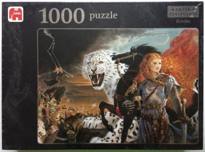 Image of the puzzle 1000, Jumbo, Cry of the Icemark, by Kinuko Yamabe Craft, Factory Sealed