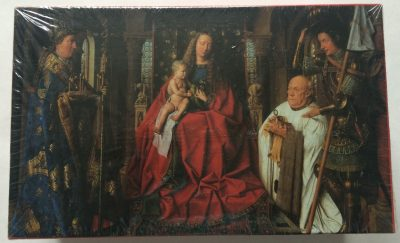 Image of the puzzle 1000, Puzzelman, Virgin and Child with Canon van der Paele, by Jan van Eyck, Factory Sealed