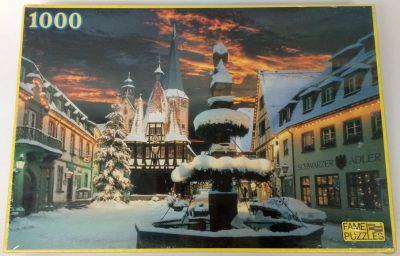 Image of the puzzle 1000, Fame, Germany Michelstadt, Factory Sealed, Picture of the box