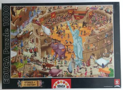 Image of the puzzle 1000, Educa, Ancient Rome, Factory Sealed