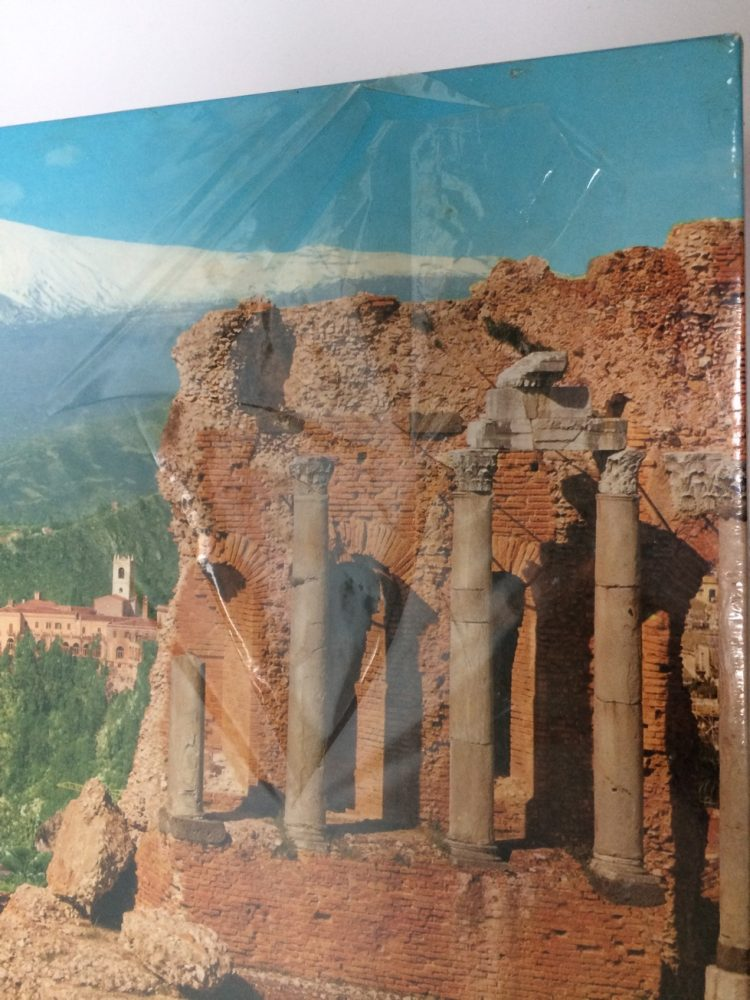 Image of the puzzle 1000, Schmidt, Sicily, Taormina, Detail of the box
