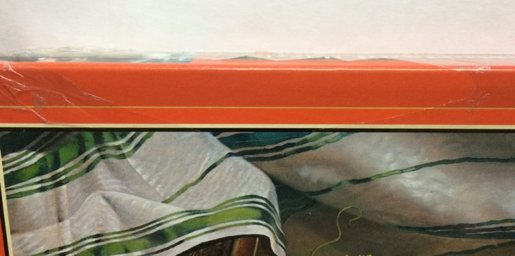 Image of the puzzle 3000, Castorland, Still Life with Fruit and a Cockatoo, by Josef Schuster, Factory Sealed, Detail of the box