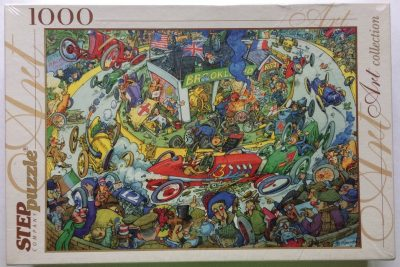 Image of the puzzle 1000, Step, Time to Rest, Factory Sealed, Picture of the box