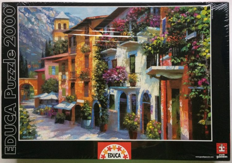 Image of the puzzle 2000, Educa, Village Hideaway, by Howard Behrens, Factory Sealed
