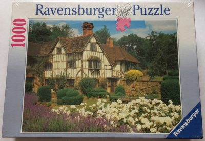 Image of the puzzle 1000, Ravensburger, A Cottage at Gomsall, Factory Sealed