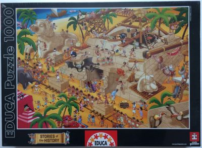 Image of the puzzle 1000, Educa, Ancient Egypt, Factory Sealed, Picture of the box