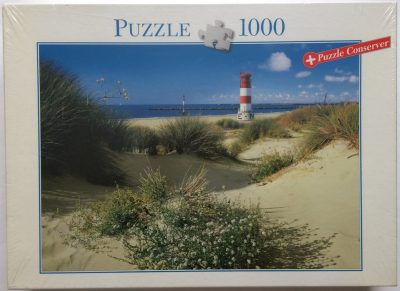 Image of the puzzle 1000, Blatz, By the Sea, Factory Sealed, Picture of the box