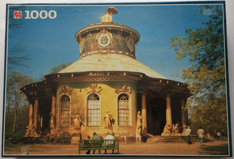 Image of the puzzle 1000, Jumbo, Germany, Factory Sealed