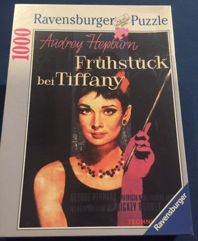 Image of the puzzle 1000, Ravensburger, Breakfast at Tiffany's, Factory Sealed