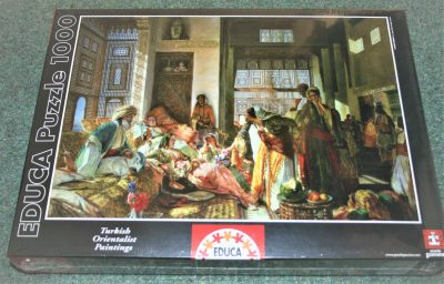 Image of the puzzle 1000, Educa, The Harem, by John Frederick Lewis, Factory Sealed