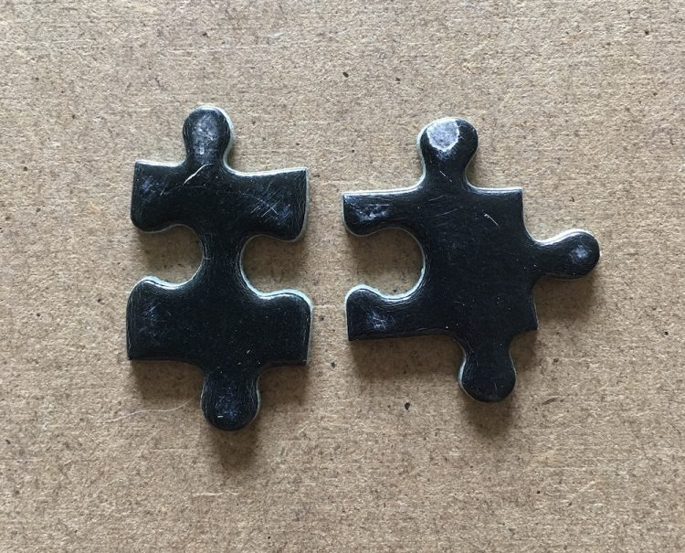 Image of the puzzle 1500, Nathan, Ballerina, Complete, Detail of the pieces