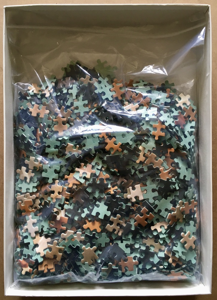 Image of the puzzle 1500, Nathan, Ballerina, Complete, Picture of the bag
