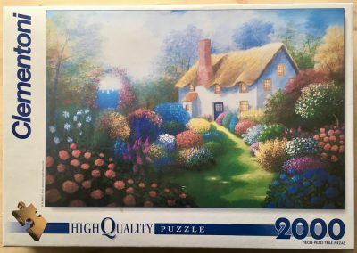 Image of the puzzle 2000, Clementoni, Cottage, by Bonnec Brothers, Factory Sealed