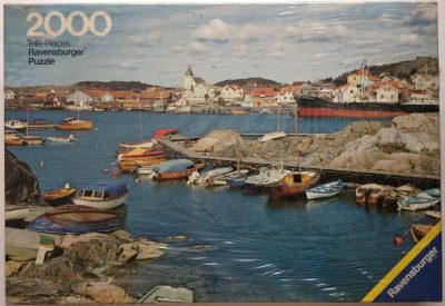 Image of the puzzle 2000, Ravensburger, Sweden, by Siegfried Bohnacker, Factory Sealed, Picture of the box