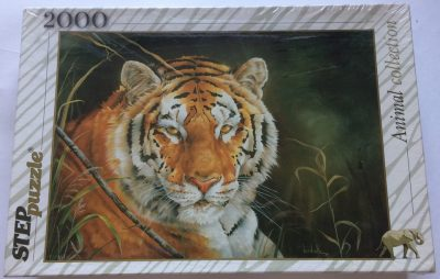Image of the puzzle 2000, Step, Tiger, Factory Sealed