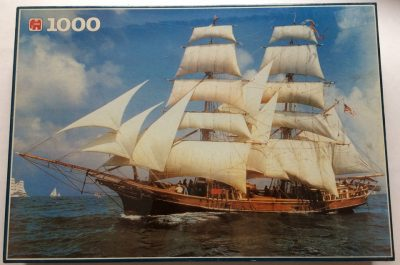 Image of the puzzle 1000, Jumbo, Unicorn Ship, U.S.A., Factory Sealed
