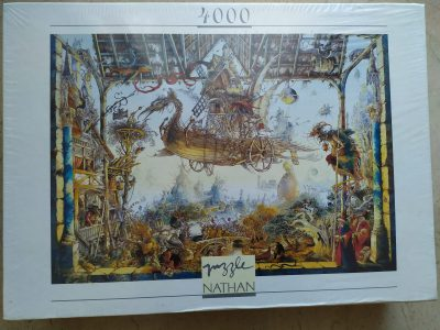 Image of the puzzle 4000, Nathan, Legends, by Gabor Szittya, Factory Sealed, Listed by Barebrain